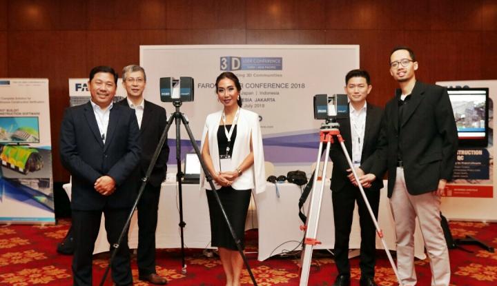 Foto Berita Bahas Penerapan Teknologi 3D Laser Scanner, FARO 3D User Conference Digelar