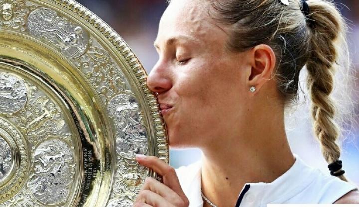 Foto Berita SAP Klaim Jadi Kunci Keberhasilan Kerber Juarai Wimbledon