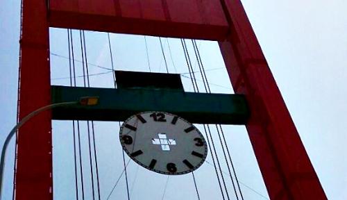 Foto Sambut Asian Games, Rehabilitasi Jembatan Ampera Rampung Akhir Juli