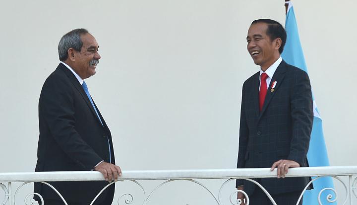 Foto Berita Jokowi Tawarkan N219 ke Federasi Mikronesia