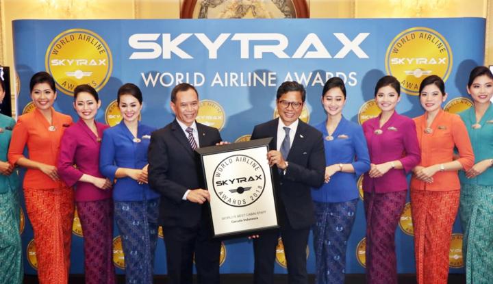 Foto Berita Garuda Indonesia Jadi World's Best Cabin Crew untuk Kelima Kalinya