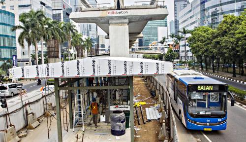 Foto 2030, Total Estimasi Pembiayaan Infrastruktur Jakarta Sebesar Rp571 triliun