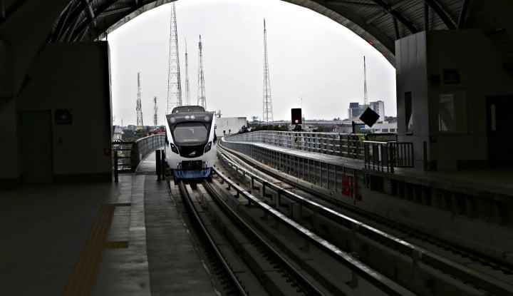 Foto Berita LRT Mogok di Palembang, Begini Alasan Menhub