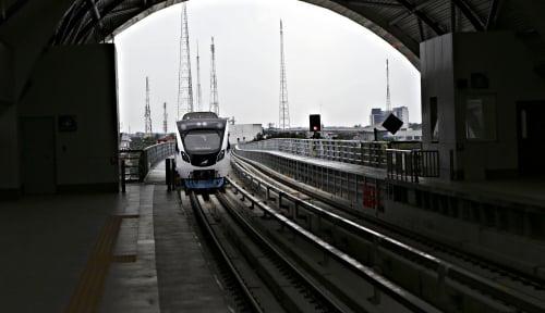 Foto Beroperasi Setahun, Total Penumpang LRT Sumsel Tembus 2 Juta