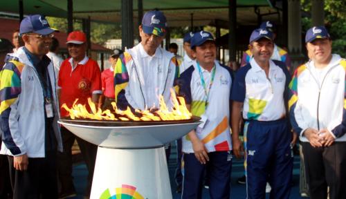 Foto Kurang dari Sebulan, Tiket Pembukaan Asian Games Baru Terjual 20 Persen
