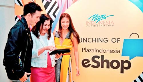Foto Tingkatkan Service, Plaza Indonesia Luncurkan Electronic Shopping