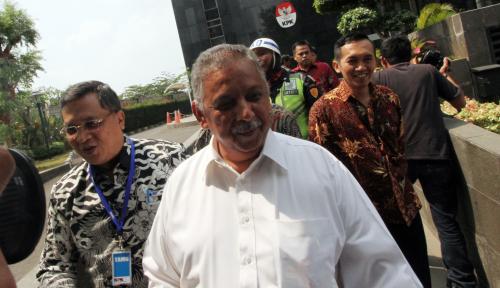 Foto Lagi! KPK Periksa Saksi untuk Tersangka Sofyan Basir