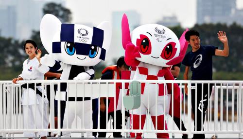 Foto Ini Penampakan Maskot Olimpiade Tokyo 2020