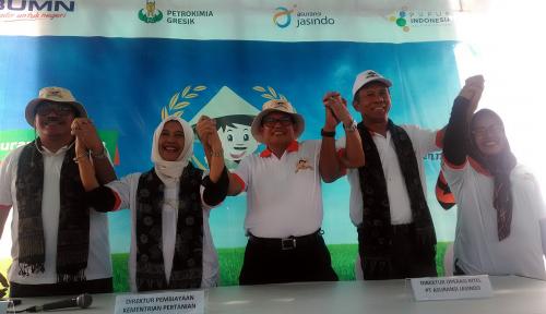 Foto Dukung Gerakan GP3, Dua BUMN Jamin Produksi Petani Lewat Asuransi