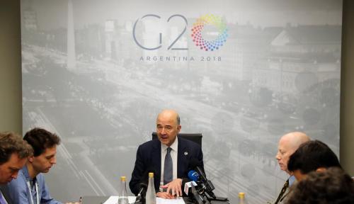 Foto G20 Serukan Dialog Hadapi Eskalasi Perdagangan dan Geopolitik