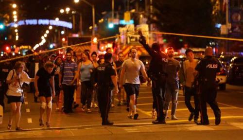Foto Aksi Teror Landa Toronto, 1 Orang Tewas