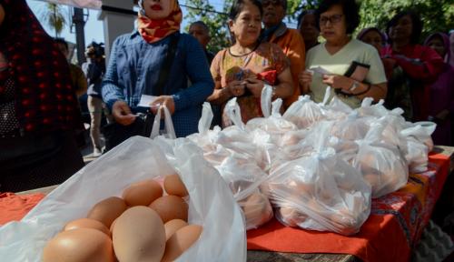 Foto Janji Prabowo Turunkan Harga Beras hingga Telur Bakal 'Ugal-Ugalan'?