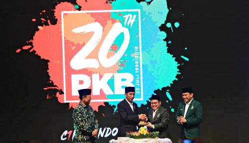 Foto Ma'ruf Amin jadi Cawapres Sumbang Elektoral ke PKB