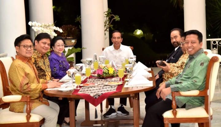 Malam Nanti Jokowi Bertemu Parpol Pengusungnya, Ini yang Dibahas - Warta Ekonomi