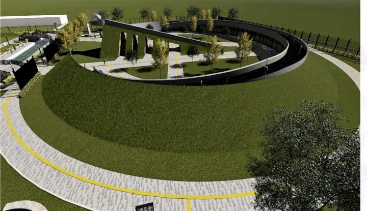 Foto Berita Progres 74%, Monumen Kapsul Waktu Merauke Rampung Oktober