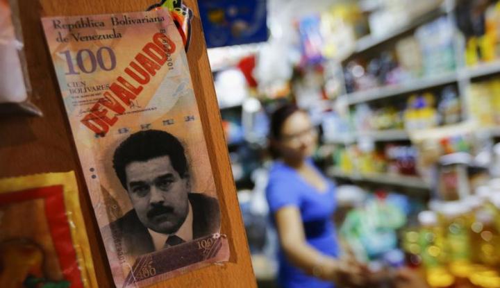 Bangkrut, Bank Sita Emas Milik Venezuela