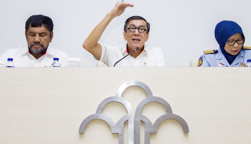 Foto Napi Koruptor Tak Jadi Pindah ke Nusakambangan, Yasonna: Mereka Tidak Berbahaya