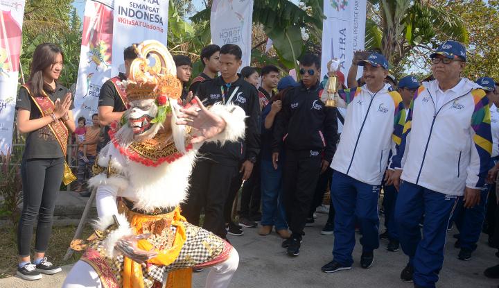 Foto Berita Menpar: Obor Asian Games Bagian dari Promosi Wisata