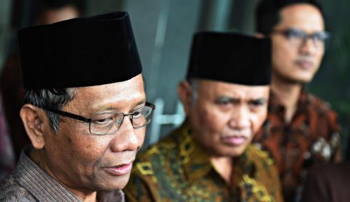 Foto Meski Dijebak Skenario Cawapres, Jokowi CS Terus Kejar Mahfud