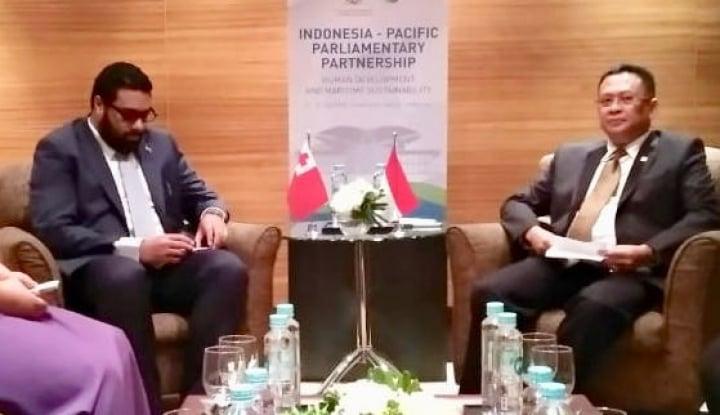 Foto Berita Bamsoet Dorong Pemerintah Sediakan Beasiswa untuk WN Kerajaan Tonga
