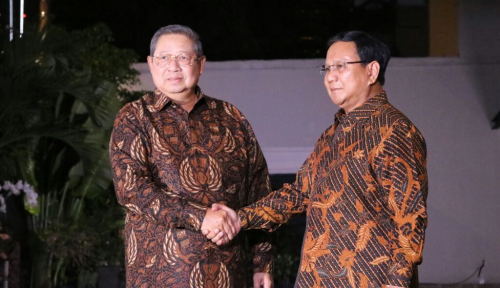 Foto Polemik SBY dan Prabowo, PKS: Itu Biasa