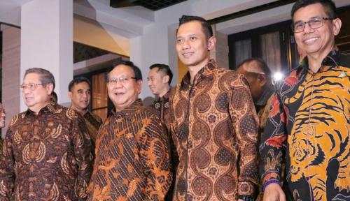 Foto Oh, Ternyata Ini yang Buat Demokrat Setengah Hati Dukung Prabowo-Sandi