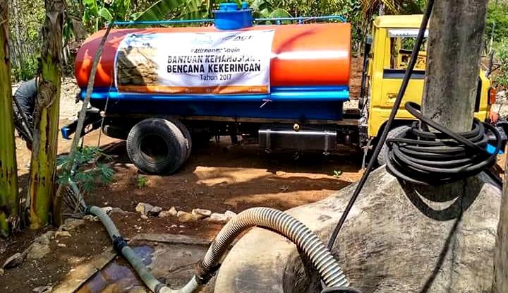 Foto Berita ACT Kirim 200 Tangki Air Bersih untuk Gunungkidul