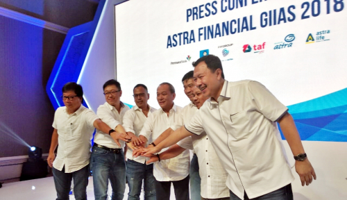 Foto Astra Financial Boyong Enam Grup Astra di GIIAS 2018
