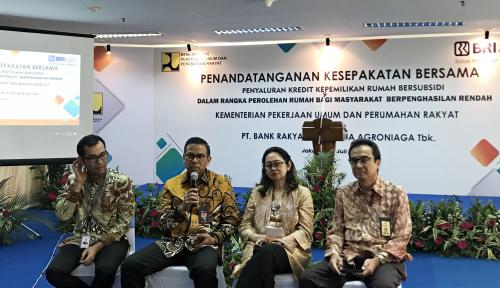 Foto BRI Agro Digandeng Kementerian PUPR untuk Salurkan Kredit FLPP