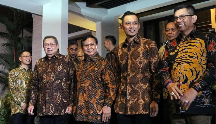 Foto Berita SBY Tidak Akan Paksakan AHY Jadi Cawapres Prabowo, Karena PA 212 Melarang?