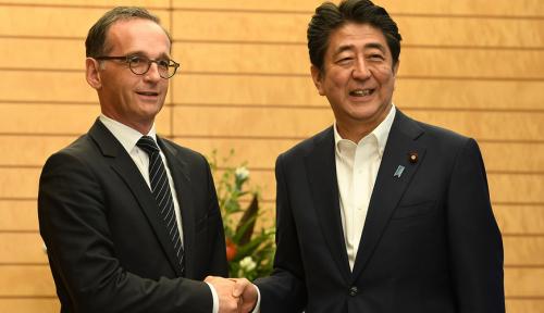 Foto Jepang-Jerman Sepakat Promosikan Perdagangan Bebas