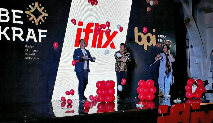 Foto Berita Teken MoU, Iflix Bersama Bekraf-BPI Produksi Film Lokal