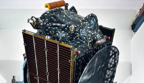 Foto Satelit Merah Putih Milik Telkom Siap Mengangkasa