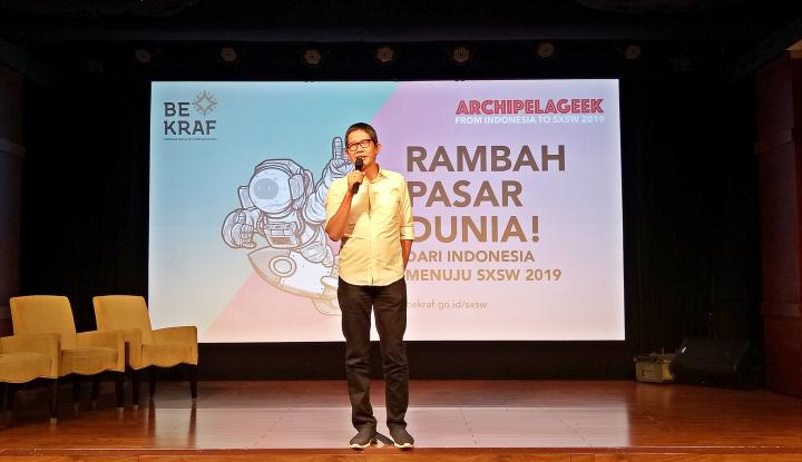Foto Berita Bekraf Ajak Talenta Kreatif Indonesia Rambah Pasar Dunia