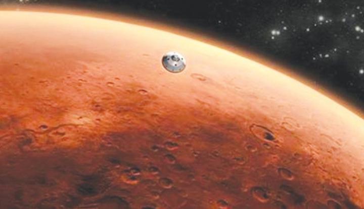 Ilmuwan Ini Yakini Permukaan Planet Mars Dialiri Lava, Seperti Apa?