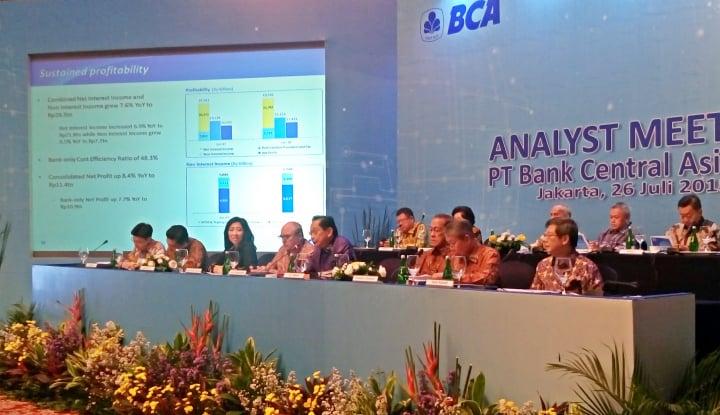 Gunakan Hotel Pribadi, BCA Laporkan Transaksi Afiliasi - Warta Ekonomi