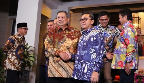 Foto Incar Kursi Ketua MPR, SBY Bakal Turun Gunung?