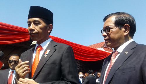 Foto Jokowi: Dana Desa Naik, Tapi Harus Tepat Sasaran
