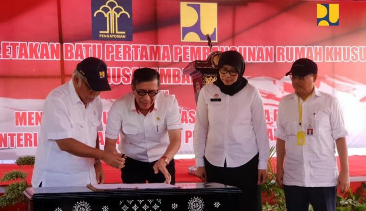 Foto Berita Kementerian PUPR Bina Narapidana Jadi Pekerja Konstruksi Bersertifikat