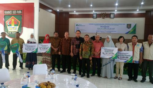 Foto BPJS TK Resmikan Desa Sadar Jaminan Sosial Ketenagakerjaan di Sumut