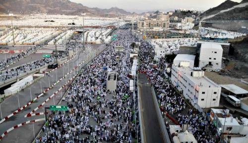 Foto Ibadah Haji, Arab Saudi Tak Istimewakan Indonesia