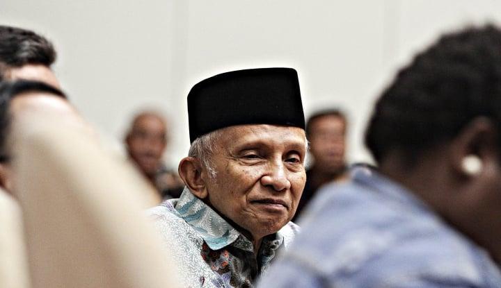 Amien Rais Diperiksa, Tim Hukum Prabowo-Sandi Turun Tangan - Warta Ekonomi