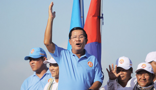 Foto PM Kamboja Tak Gentar dengan Sanksi Perdagangan Uni Eropa
