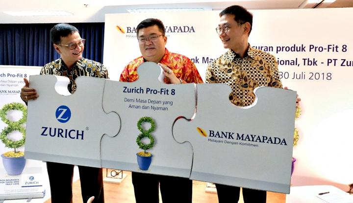 Foto Berita Gemukkan Fee Based Income, Bank Mayapada Pasarkan Zurich Pro-Fit 8