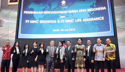 Foto MNC Sekuritas Luncurkan