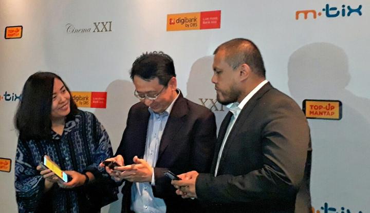 Foto Berita Kolaborasi Digibank-MTix Dorong Penikmat Film Nonton di Bioskop