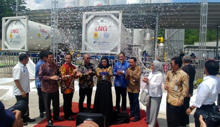 Foto Berita Manfaatkan LNG untuk PLTG Sambera, PLN Hemat Rp70 M/Tahun