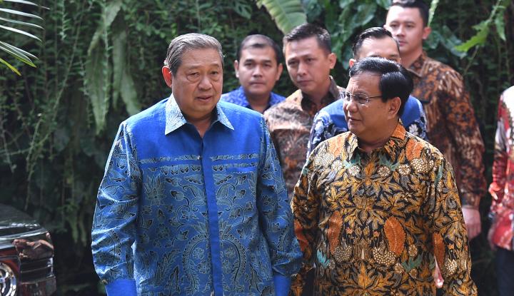 Foto Berita SBY Kampanye Maret 2019, Gerindra: Tidak Perlu Lagi SBY Turun
