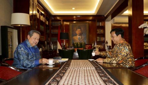 Foto SBY Sebenarnya Tak Sejalan dengan Prabowo?