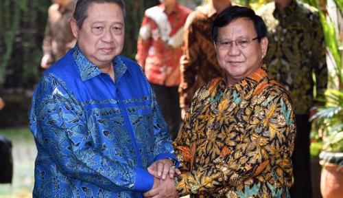 Foto Gerindra Tagih Janji SBY untuk Menangkan Prabowo-Sandi